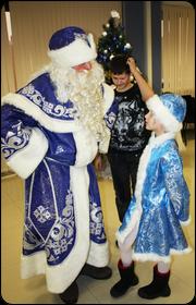 Дед Мороз Узорный