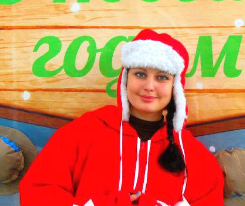 Куртка Снежинка красная