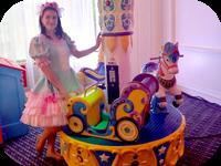 Принцесса на детский празднк