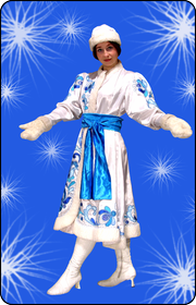 Снегурочка Гжель