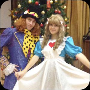Алиса и Шляпник из Страны Чудес