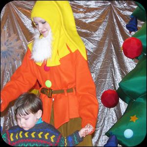 Новогодний праздник в ДК
